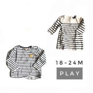3/$25 18-24M Zara/Gap Play Bundle